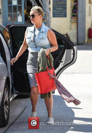 Kerry Katona Attends The Garden Furniture Centre Showroom Product Launch    Wooton Wawen United Kingdom   Saturday 15th August 2015