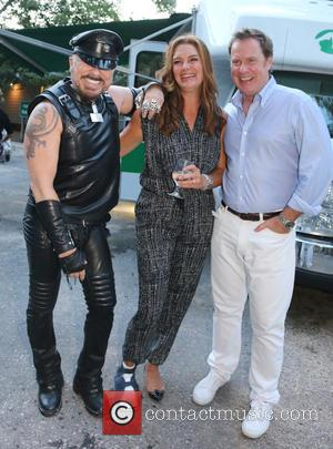 Peter Marino, Brooke Shields and Chris Henchy