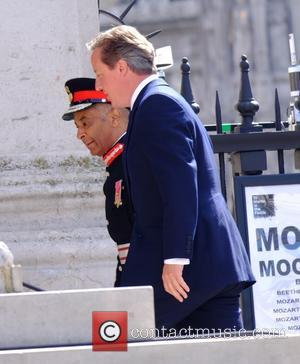 David Cameron - The 70th Anniversary of VJ Day Service of Commemoration at St Martin-in-the-Fields - London, United Kingdom -...