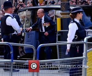 Prince Philip - The 70th Anniversary of VJ Day Service of Commemoration at St Martin-in-the-Fields - London, United Kingdom -...