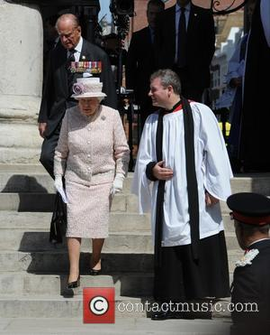 The Queen , The Duke of Edinburgh - The 70th Anniversary of VJ Day Service of Commemoration at St Martin-in-the-Fields...