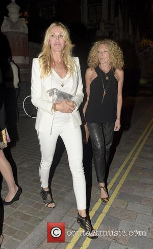 Kelly Hoppen - Celebrities at Chiltern Firehouse at w1 - London, United Kingdom - Sunday 16th August 2015