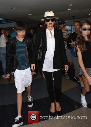 Catherine Zeta-Jones, Carys Zeta Douglas , Dylan Michael Douglas - Michael Douglas, Catherine Zeta-Jones and their children, Carys and Dylan...