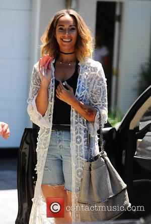 Leona Lewis - Celebrities visiting a gifting suite in Brentwood - Los Angeles, California, United States - Sunday 16th August...