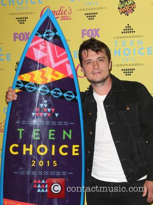 Josh Hutcherson - Teen Choice Awards 2015 - Press Room at Galen Center - Los Angeles, California, United States -...