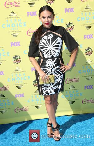 Janel Parrish - Celebrities attend Teen Choice Awards 2015 - Arrivals at USC Galen Center. at USC Galen Center -...