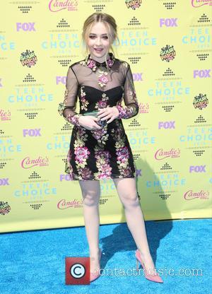 Sabrina Carpenter - Celebrities attend Teen Choice Awards 2015 - Arrivals at USC Galen Center. at USC Galen Center -...