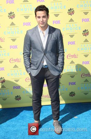 Skylar Astin - Celebrities attend Teen Choice Awards 2015 - Arrivals at USC Galen Center. at USC Galen Center -...