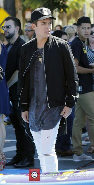 Austin Mahone - Teen Choice Awards 2015 at the USC Galen Center - Los Angeles, California, United States - Sunday...