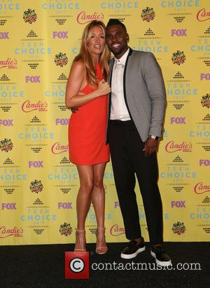 Cat Deeley , Jason Derulo - Teen Choice Awards 2015 - Press Room at Galen Center - Los Angeles, California,...