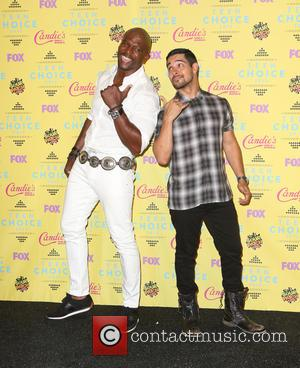 Terry Crews and Wilmer Valderrama