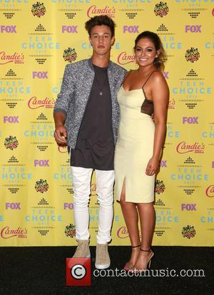 Cameron Dallas , Bethany Mota - Teen Choice Awards 2015 - Press Room at Galen Center - Los Angeles, California,...