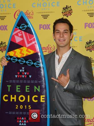 Skylar Astin - Teen Choice Awards 2015 - Press Room at Galen Center - Los Angeles, California, United States -...