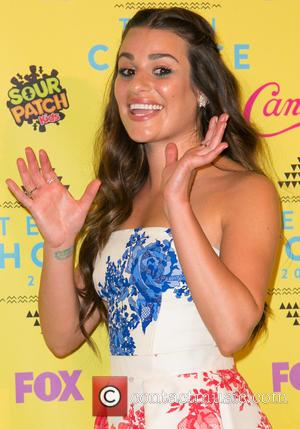 Lea Michele - Teen Choice Awards 2015 at USC Galen Center - Press Room at USC Galen Center - Los...