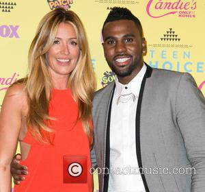 Cat Deeley , Jason Derulo - Teen Choice Awards 2015 at USC Galen Center - Press Room at USC Galen...