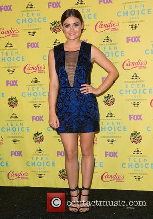 Lucy Hale - Teen Choice Awards 2015 at USC Galen Center - Press Room at USC Galen Center - Los...