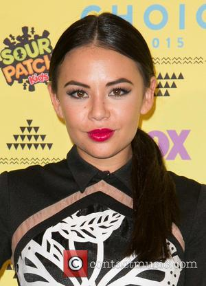 Janel Parrish - Teen Choice Awards 2015 at USC Galen Center - Press Room at USC Galen Center - Los...