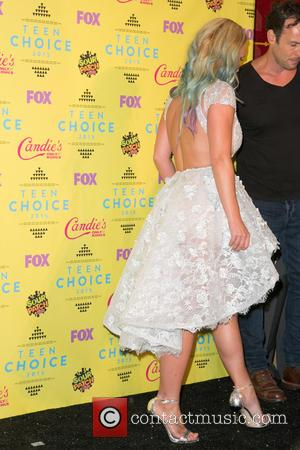 Britney Spears - Teen Choice Awards 2015  at USC Galen Center - Press Room at USC Galen Center -...