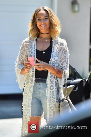 Leona Lewis - Celebrities visiting a gifting suite in Brentwood - Los Angeles, California, United States - Monday 17th August...