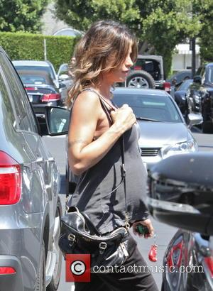 Elisabetta Canalis - Elisabetta Canalis at Freds - West Hollywood, California, United States - Monday 17th August 2015