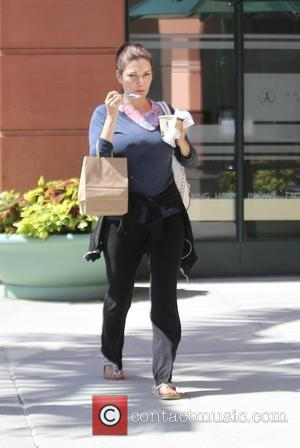 Laura Harring - Laura Harring grabs a yoghurt in Beverly Hills - Los Angeles, California, United States - Monday 17th...