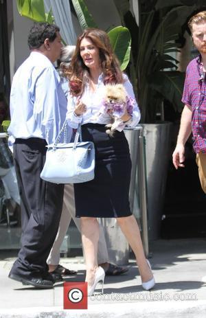 Lisa Vanderpump - Kyle Richards and Lisa Vanderpump have lunch together in Beverly Hills - Los Angeles, California, United States...