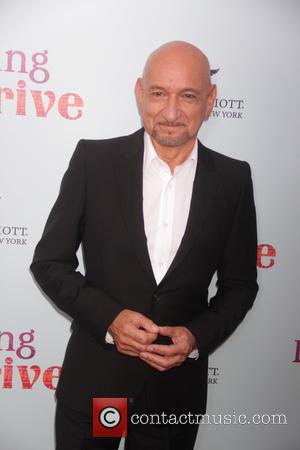Ben Kingsley - New York premiere of 'Learning To Drive' at The Paris Theatre - Red Carpet Arrivals at Paris...