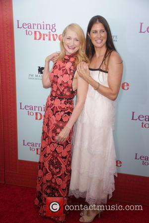 Patricia Clarkson , Dana Friedman - New York premiere of 'Learning To Drive' at The Paris Theatre - Red Carpet...