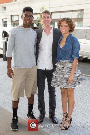 Thomas Mann, R J Cyler and Olivia Cooke