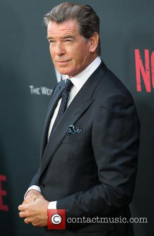 Pierce Brosnan - Celebrities attend Los Angeles Premiere of NO ESCAPE at Regal Cinemas LA LIVE. at Regal Cinemas LA...