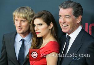 Owen Wilson, Lake Bell and Pierce Brosnan