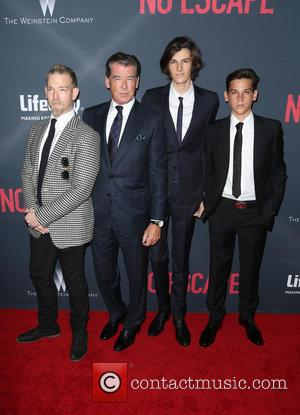 Pierce Brosnan, Sean Brosnan, Dylan Brosnan , Paris Brosnan - The Weinstein Company Presents The Los Angeles Premiere Of