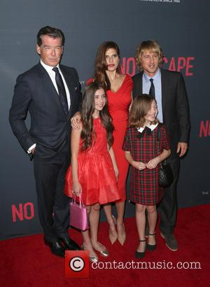 Owen Wilson, Lake Bell, Pierce Brosnan, Sterling Jerins , Claire Geare - The Weinstein Company Presents The Los Angeles Premiere...