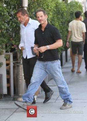 Peter Berg - Peter Berg has lunch at E Baldi in Beverly Hills - Los Angeles, California, United States -...