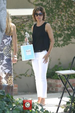 Lisa Rinna - Eileen Davidson and Lisa Rinna filming for 'The Real Housewives of Beverly Hills.' They were seen leaving...