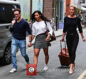 Kevin Clifton, Karen Hauer and Natalie Lowe