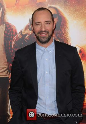 Tony Hale - Los Angeles premiere of 'American Ultra' at the Ace Theater - Red Carpet Arrivals at The Ace...