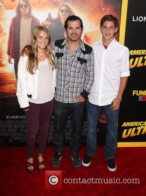 John Leguizamo, Allegra Leguizamo , Ryder Leguizamo - Los Angeles premiere of 'American Ultra' at the Ace Theater - Red...