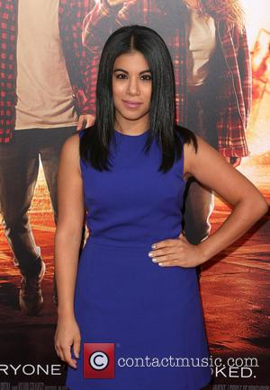 Chrissie Fit - Los Angeles premiere of 'American Ultra' at the Ace Theater - Red Carpet Arrivals at The Ace...