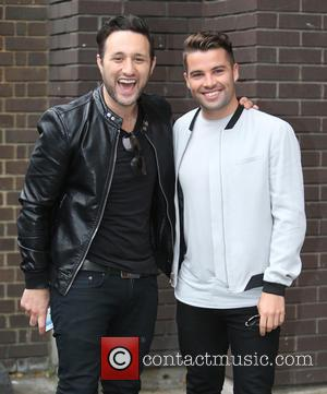 Joe McElderry , Antony Costa - Antony Costa and Joe McElderry outside ITV Studios - London, United Kingdom - Tuesday...