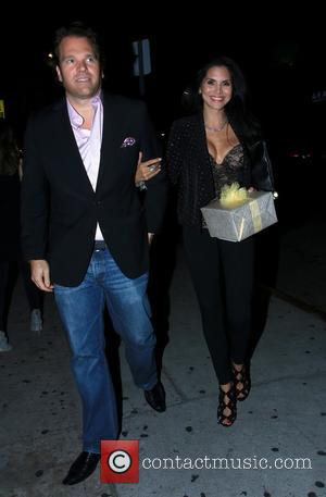 Joyce Giraud - Brooke Mueller arriving for her 38th birthday celebration at The Nice Guy in West Hollywood - Los...
