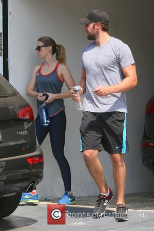 John Krasinski , Emily Blunt - John Krasinski and Emily Blunt leaving Rise Movement gym together - Los Angeles, California,...