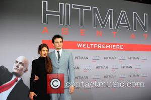 Hannah Ware , Rupert Friend - World premiere of 'Hitman: Agent 47' at Cinestar am Potsdamer Platz movie theater. at...