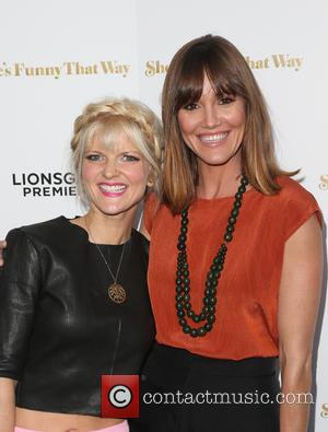 Arden Myrin , Erinn Hayes - Los Angeles premiere 'She's Funny That Way' at Harmony Gold - Arrivals at Harmony...