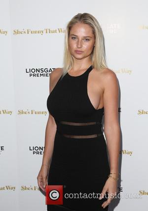 Genevieve Morton - Los Angeles premiere 'She's Funny That Way' at Harmony Gold - Arrivals at Harmony Gold - Los...