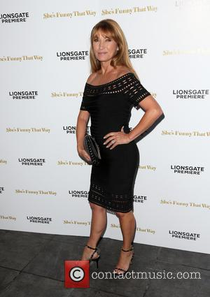 Jane Seymour - Los Angeles premiere 'She's Funny That Way' at Harmony Gold - Arrivals at Harmony Gold - Los...