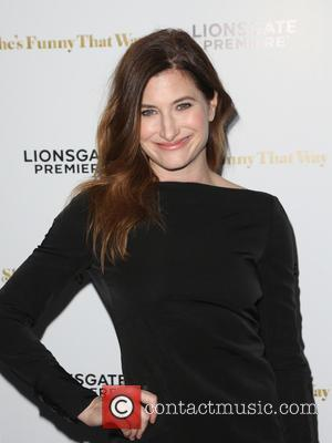 Kathryn Hahn - Los Angeles premiere 'She's Funny That Way' at Harmony Gold - Arrivals at Harmony Gold - Los...
