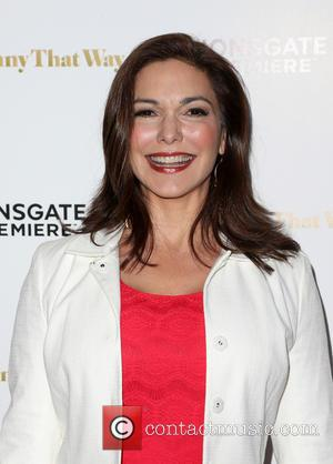 Laura Harring - Los Angeles premiere 'She's Funny That Way' at Harmony Gold - Arrivals at Harmony Gold - Los...