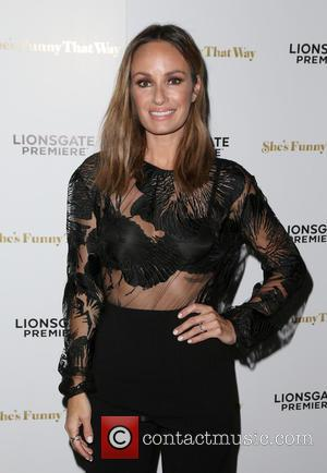Catt Sadler - Los Angeles premiere 'She's Funny That Way' at Harmony Gold - Arrivals at Harmony Gold - Los...