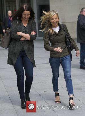 Fiona Phillips - Celebrities at the BBC studios - London, United Kingdom - Wednesday 19th August 2015